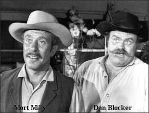 Dan Blocker - The Rifleman / Bonanza